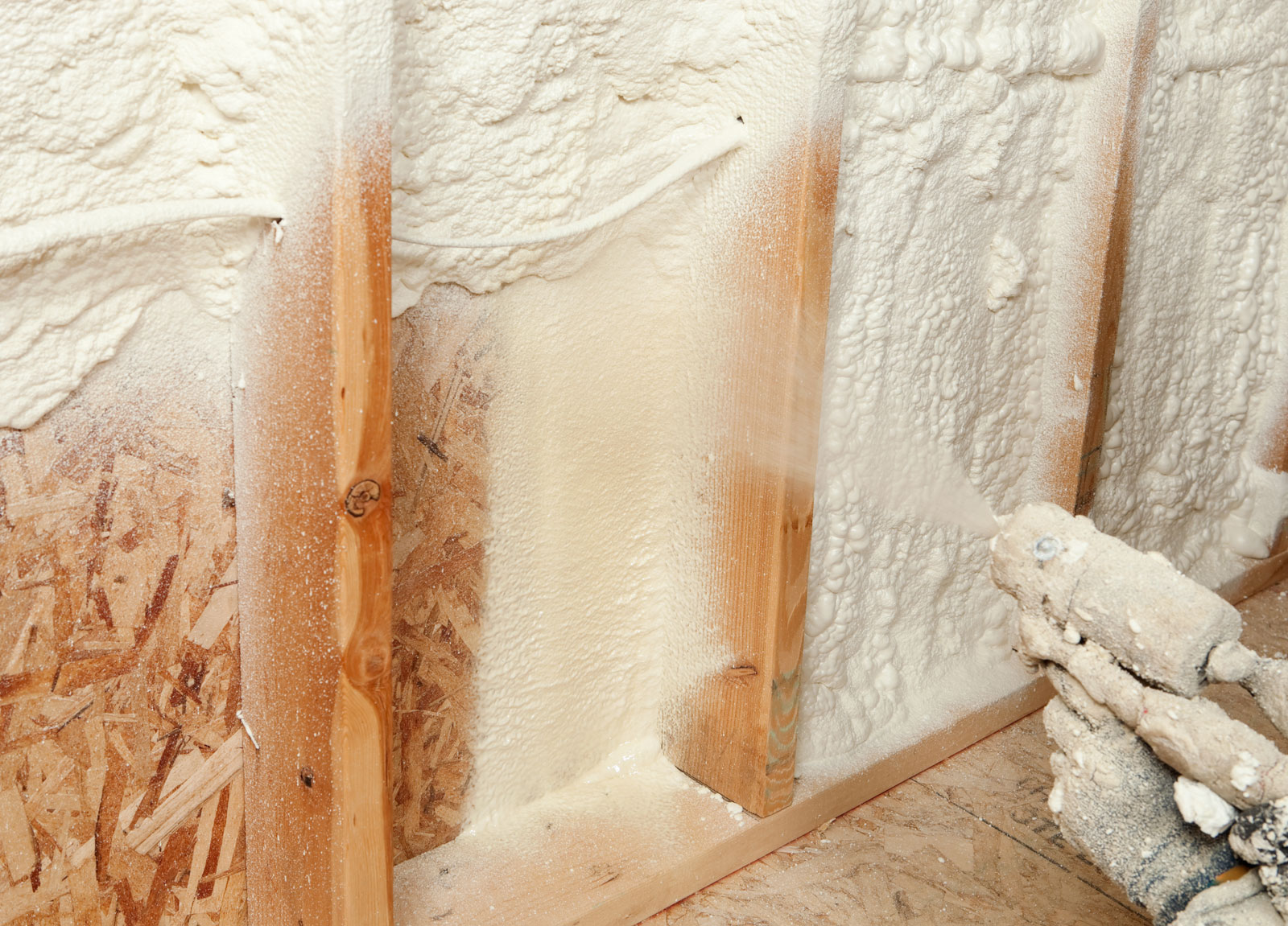 The new gold standard for home insulation is spray-in foam